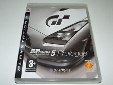 Gran Turismo 5 Prologue por Sony para PS3 Playstation Completa Excelente Estado