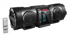 JVC (Rv-nb100b) Bluetooth, Portable, CD Boomblaster With Lightning Dock and DAB