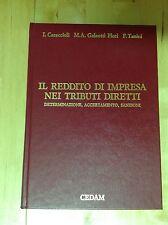 CARACCIOLI IL REDDITO D'IMPRESA NEI TRIBUTI DIRETTI CEDAM 1990