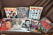 Pop-Culture Collector magazine lot of 8 The BEATLES Elvis Sinatra The 70's & 80s