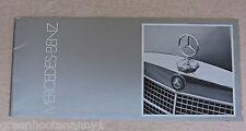 1971 1972 Mercedes Benz Brochure- Small Edition
