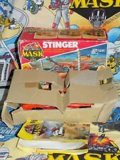 M.A.S.K Boxed Comp STINGER kenner mask Bruno Shepperd Scorpion GTO Armoured Box