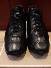 Scarpe uomo sneakers pelle nero SANTONI numero 41 - 7