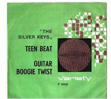 THE SILVER KEYS - TEEN BEAT - GUITAR BOOGIE TWIST