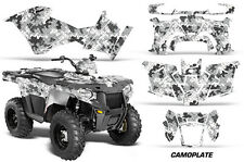 Polaris Sportsman 570 Graphic Kit Wrap Quad AMR Racing Decal ATV 14-17 CAMOPLATE
