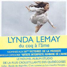Lynda Lemay - Du Coq A L'Ame Cd New Sealed Canada Quebec