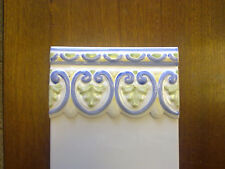 BORDER TILES PACK OF 20 CERAMIC BLUE/GREEN/YELLOW/WHITE