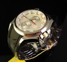 NEW MENS INVICTA S1 RALLY  W SILVER TEXTURED DIAL- RED ACCENTS-LUME INDICES
