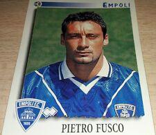 FIGURINA CALCIATORI PANINI 1997/98 EMPOLI FUSCO ALBUM 1998