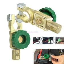 2 Pcs Car Battery Link Terminal Quick Cut-off Disconnect Master Kill Shut Switch