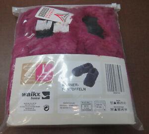 walkx home Körner-Pantoffeln für Mikrowelle/Backofen Neu in OVP Größe L