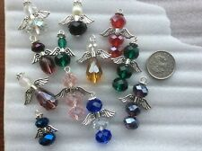 20 Guardian Angel Clip on Charm Beads Jewellery