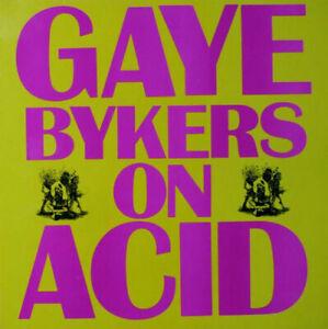 """2nd Vinyl - 12"""" Single – Gaye Bykers On Acid – Everythangs Groovy"""