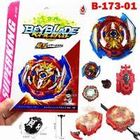 Infinite Achilles 7.Lp 1D Beyblade Burst Superking B173 with Launcher Kids Gift