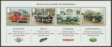 GB 3218 MS5318 British Auto Legends Workhorses miniature sheet MNH 2013