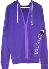 Veste de sport homme EMERICA à capuche skateboarding violette Taille M Neuve