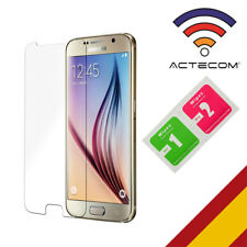 Actecom funda gel TPU transparente para Samsung Galaxy S6 Edge G9250 Ultra