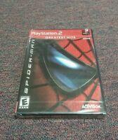 Spider-Man (Sony PlayStation 2, 2010) Brand New