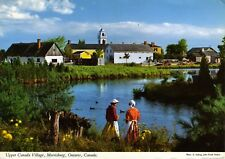 Morrisburg ON Ontario ~ Upper Canada Village ~ Postcard