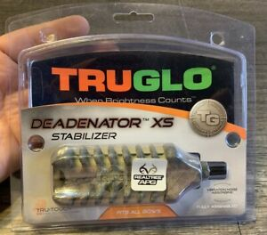 "TRUGLO Deadenator XS Stabilizer TG818A 4.6"" Archery"