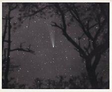 Orig. 8x9 Photograph 1950-60's Stars & Comet - Charles Cuevas Astrophotography