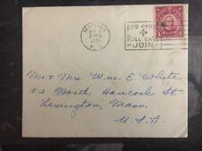 1931 Manila Philippines USA Cover RedCross Cancel To Lexington USA
