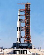 Saturn V Rakete auf Apollo 13 Nasa 8x10 Silber Halogen Fotodruck