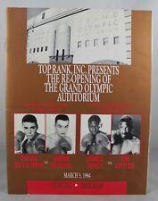 OSCAR DE LA HOYA vs. Jimmi Bredahl WBO Junior Lightweight Championship Program