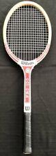 "Vintage Wilson Strata-Bow Wood Pro-100 Racket 4 3/8"" Grip"