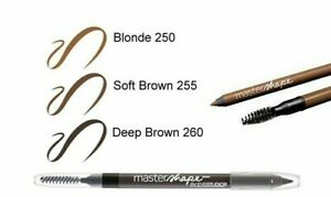 Maybelline Master Shape Brow Pencil Precise Eyebrow Natural Wax & Subtle Pigment