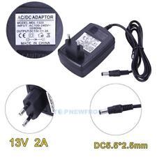 EU-Stecker Netzteil Netzadapter AC100-240V auf/zu DC13V 2A Adapter 5.5mm X 2.5mm