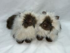 Lot 2 Ganz Himalayan Kitty Cat Kitten Gorgeous Plush Sisters Collectible Toy