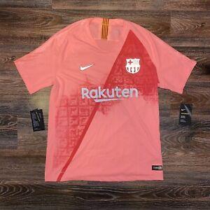 New Nike FC Barcelona Vaporknit Match Third Soccer Jersey SIZE LARGE 918911-694