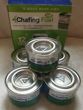 ZSP 5x Cans Caterers Chafing Tin Chafing Fuel Gel Cans 4 Hour Burn Time