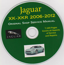 Jaguar XK-XKR 2006 -2012 Factory SERVICE REPAIR SHOP & MAINTENANCE MANUAL