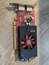 AMD FirePro W2100 2GB GDDR3 PCIe Low ProfileVideo Graphics Card 2P8XT
