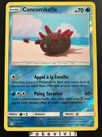 Carte Pokemon CONCOMBAFFE 53/214 REVERSE Soleil et Lune 10 SL10 FR NEUF