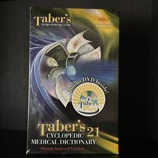 Taber's Cyclopedic Medical Dictionary 21st Edition Indexed by Donald Venes