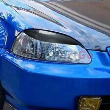 Real Carbon fiber Eyelid Eyebrow Cover Trim For Honda Civic EK EK9 SPORT 99-2000