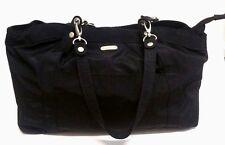 Baggallini Black Nylon Hampton Tote Organizer Shoulder Bag Extra Large
