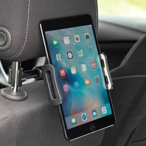 Universal Tablet / iPad Car Mount Headrest Display Travel Kit - Fits Most Cars