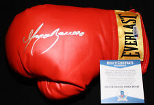 Marco Antonio Barrera signed boxing glove, WBO, WBC, IBF RING,Beckett BAS B87448