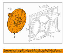 Chevrolet GM OEM 12-18 Sonic 1.8L-L4 Cooling Fan-Fan & Motor 52096865