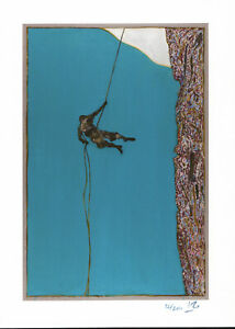 BILLY CHILDISH SIGNED AND NUMBERED ABSEILER GICLEE 2015 MINT / BRAND NEW 12/200