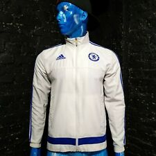 Chelsea Presentation Jacket With Zipped 2015-2016 Adidas S12032 Mens Size S