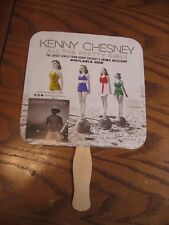 CMA Music Festival Promotional Kenny Chesney Fan - Hand Held - 2017