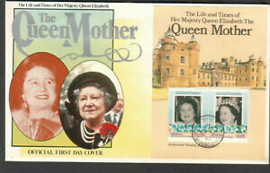 St Vincent Bequia 1985 FDC first day cover Queen Elizabeth The Queen Mother