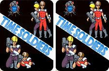 Time Soldiers Arcade Game side art set