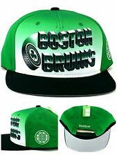 Boston Bruins Reebok New Green St. Patricks Day Green White Era Snapback Hat Cap