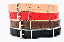 Collares de color principal rojo para perros
